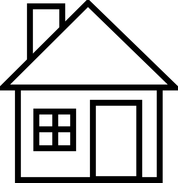 Small House SVG Clip arts