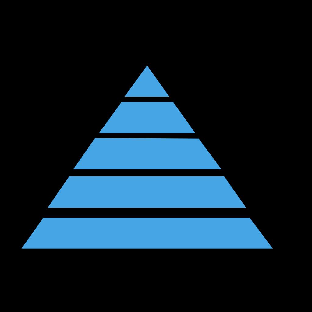 Pyramid SVG Clip arts