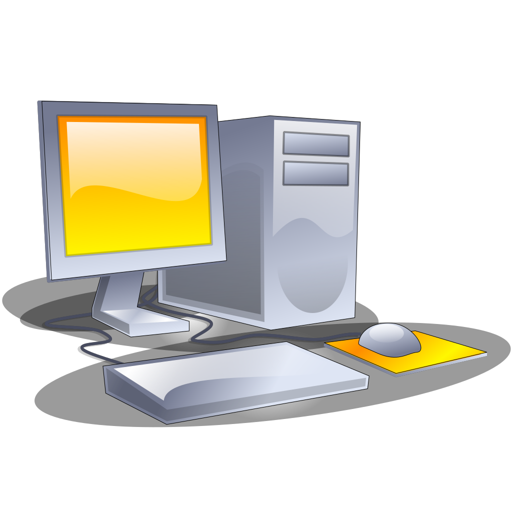 Desktop Computer SVG Clip arts