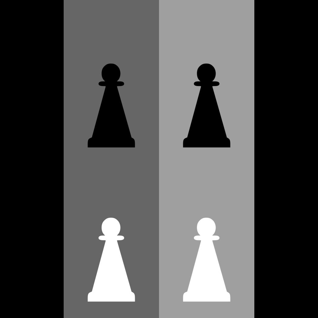 Pawn Chess Set SVG Clip arts