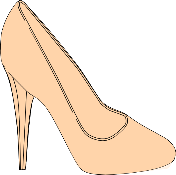 Shoe High Heel SVG Clip arts
