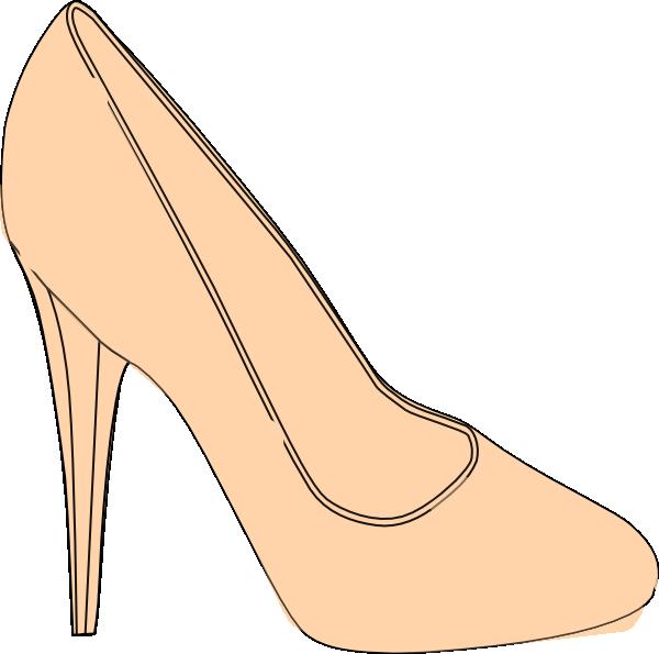 Shoe High Heel SVG Clip arts
