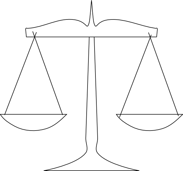 scale of justice png  svg clip art for web download clip Scales of Justice with Gavel Scales of Justice Symbol