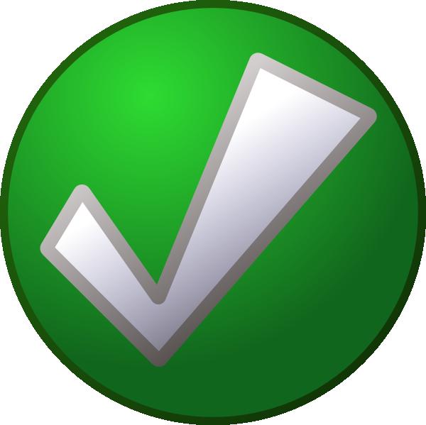 Checkmark On Circle SVG Clip arts
