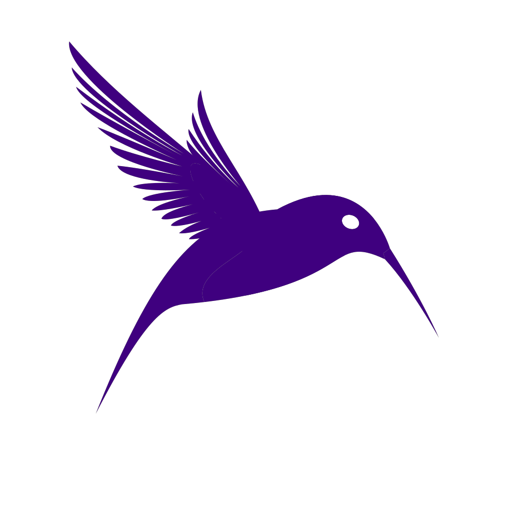 Xhumming Bird svg
