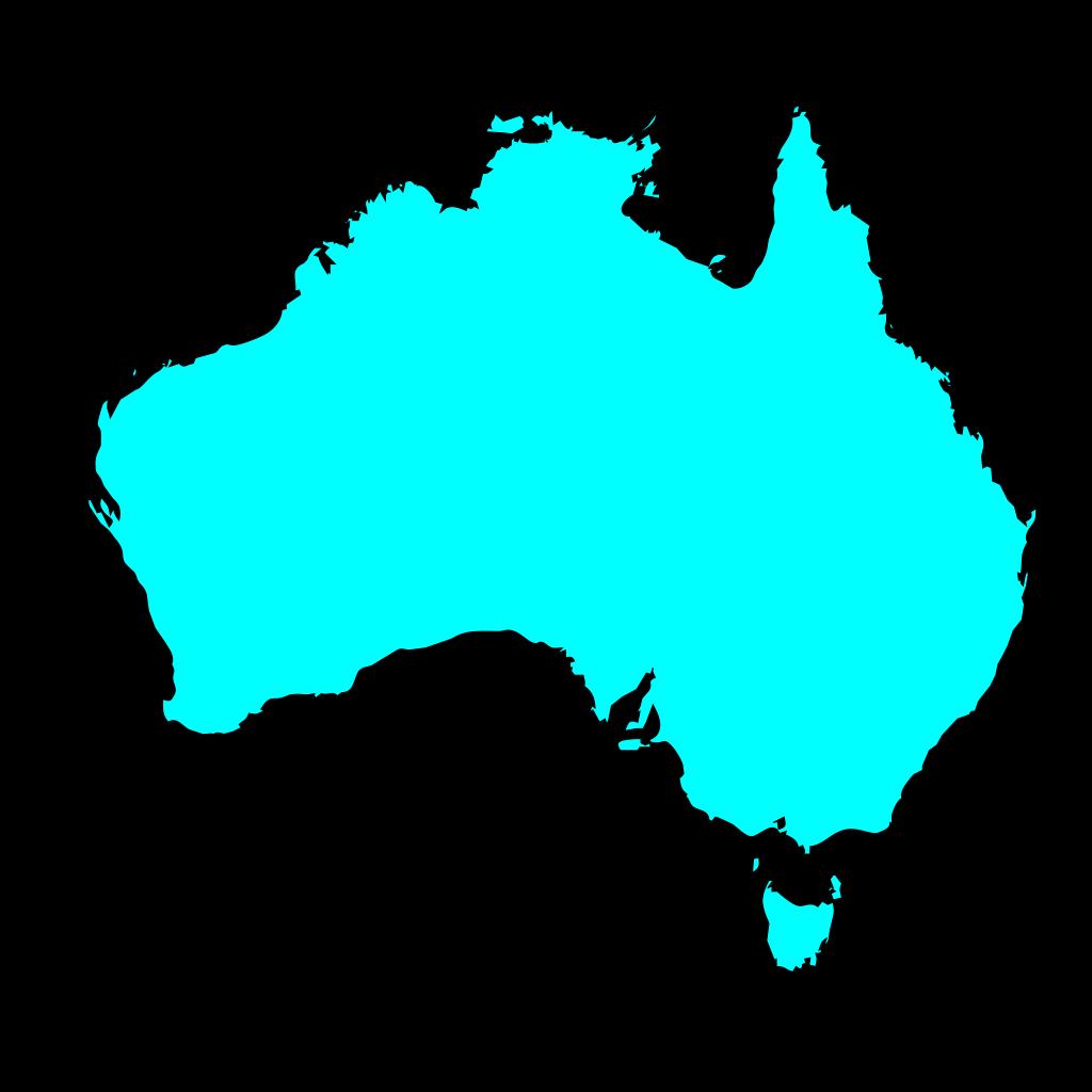 Australia 7 SVG Clip arts