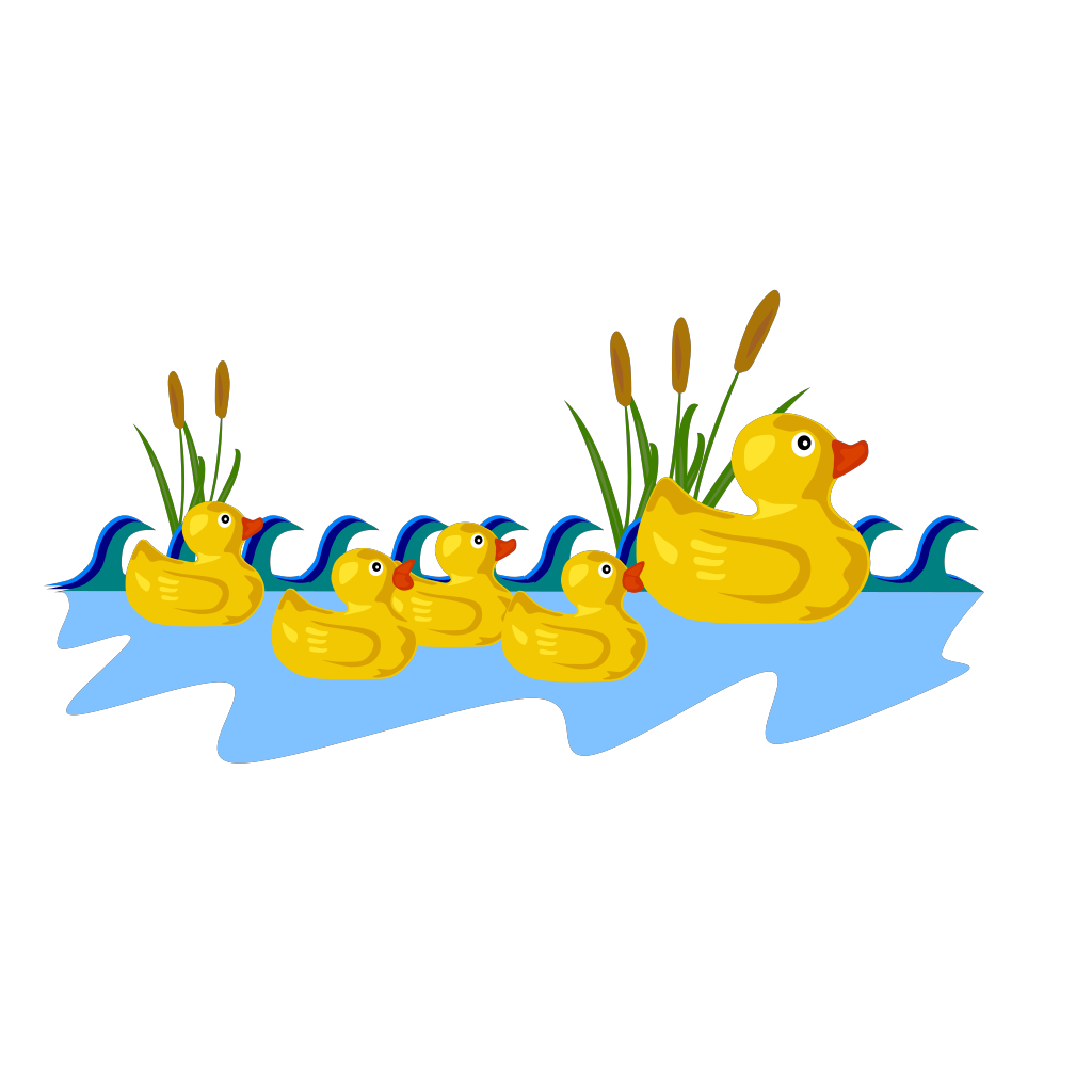 Duck SVG Clip arts