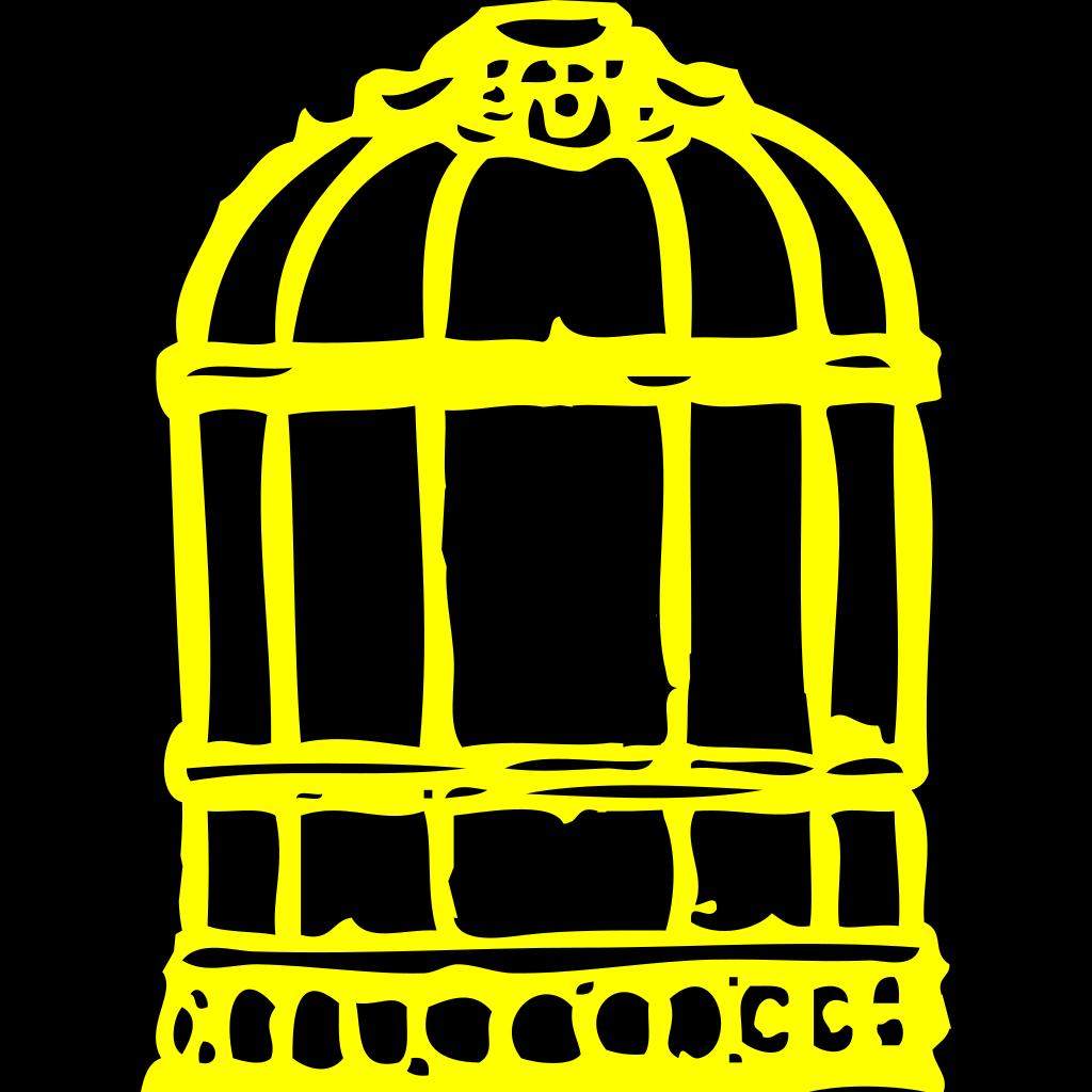 Bird Cage SVG Clip arts