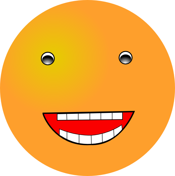 Laughing Smiley SVG Clip arts