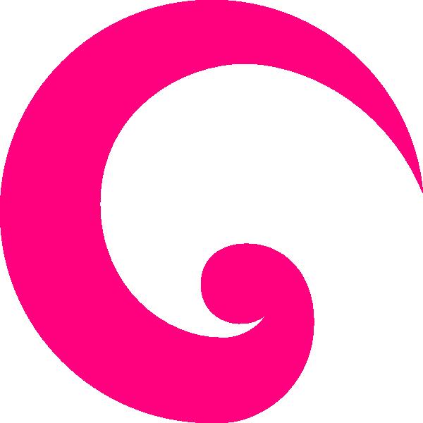 Ginger Swirl SVG Clip arts