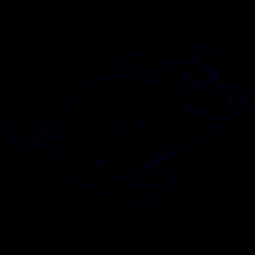 Pigeon 1 SVG Clip arts