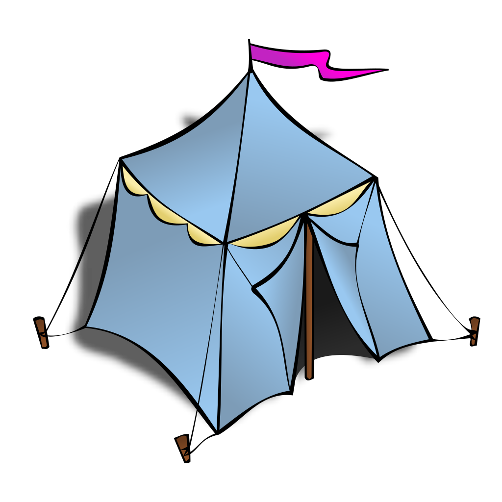 Tents In The Desert SVG Clip arts