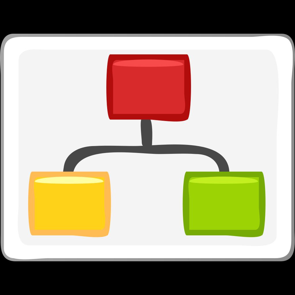 Block Diagram Visio Hierarchy Clip Art Png  Svg Clip Art