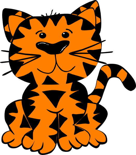 Tiger SVG Clip arts