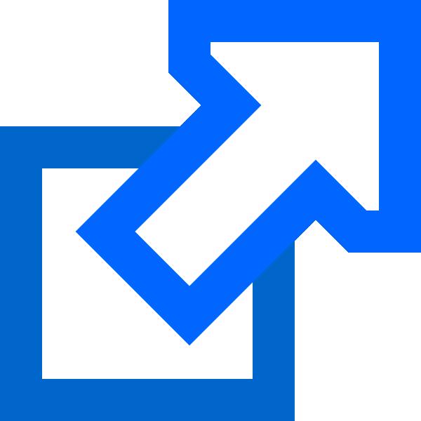 Blue External Hdd SVG Clip arts