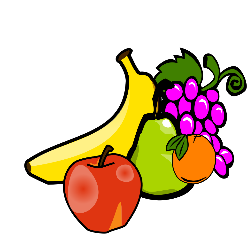 Apple Coloring Fruit SVG Clip arts