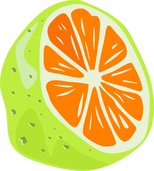 Orange SVG Clip arts