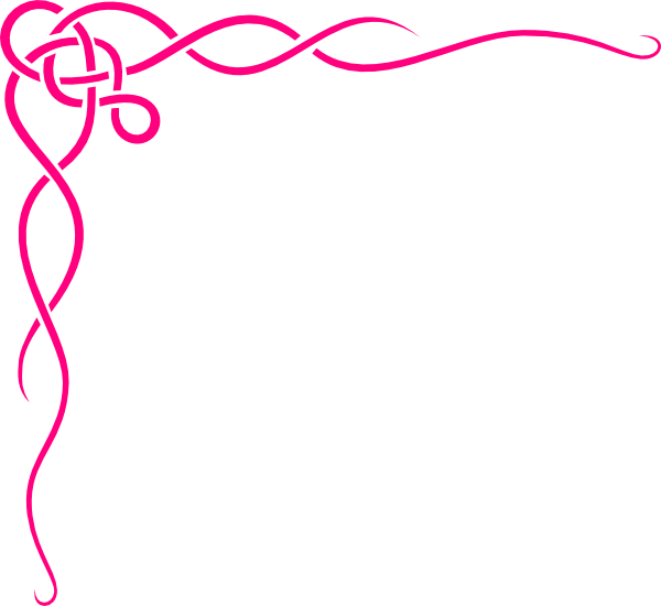 Pink Swirl Birds (butterfly Princess) SVG Clip arts