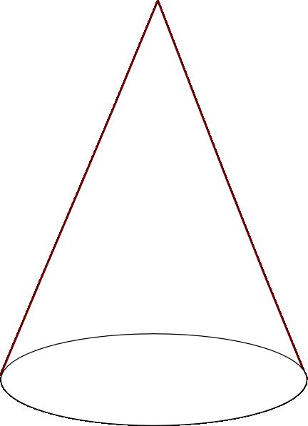 Ice Cream Cone (2 Scoop) (b And W) SVG Clip arts