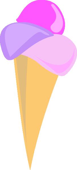 Soft Serve Ice Cream Cone (b And W) SVG Clip arts