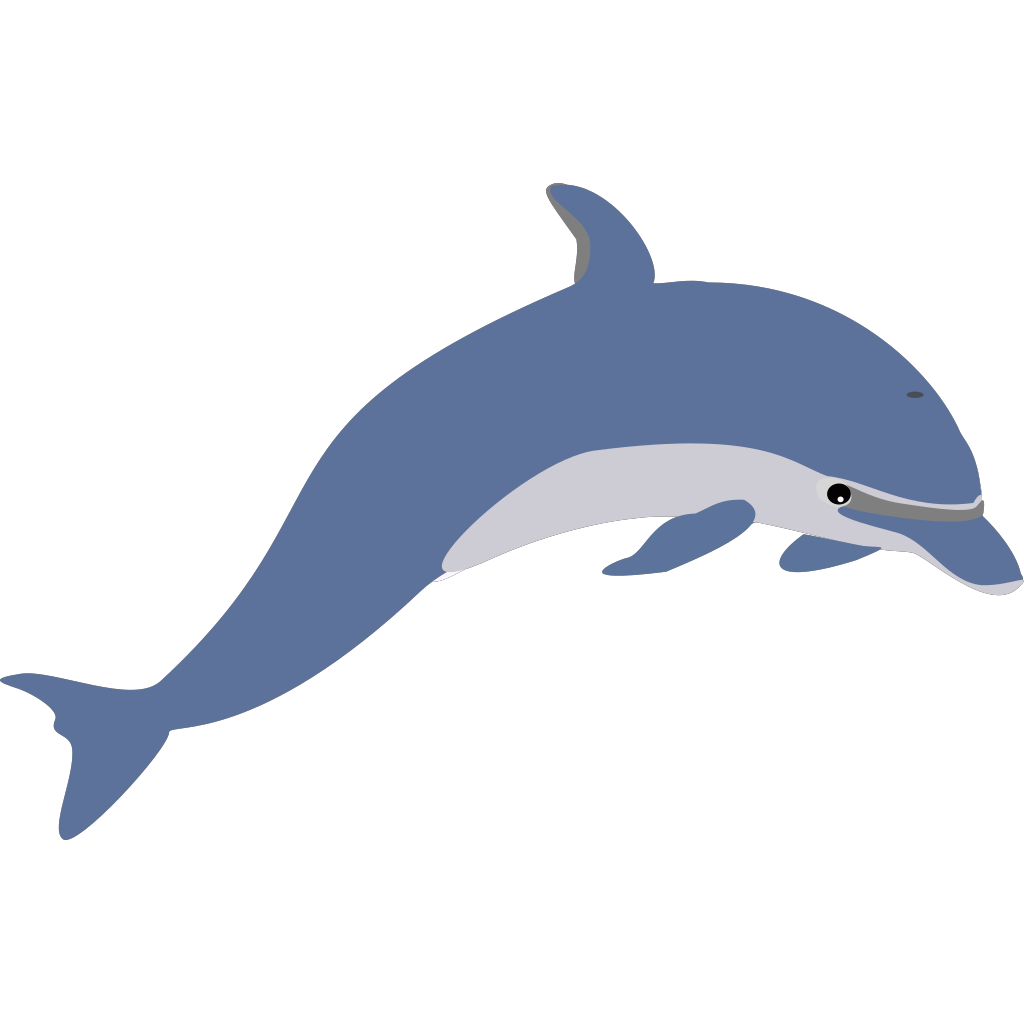 Dolphin SVG Clip arts
