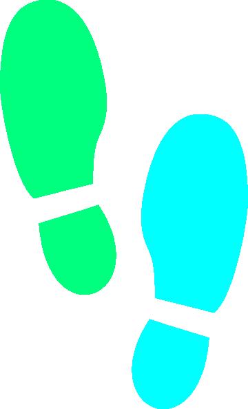 Shoe Print SVG Clip arts