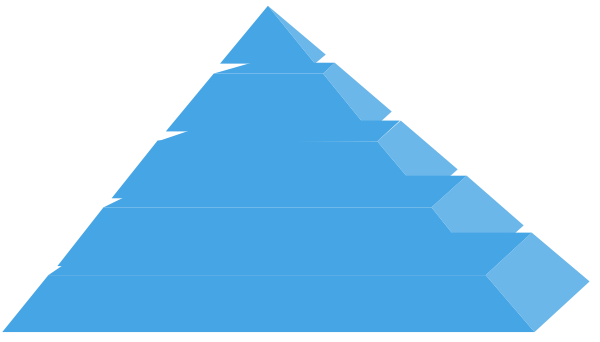 Pyramid1 SVG Clip arts