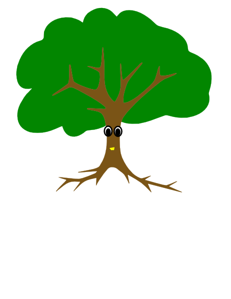 Oak Tree SVG Clip arts