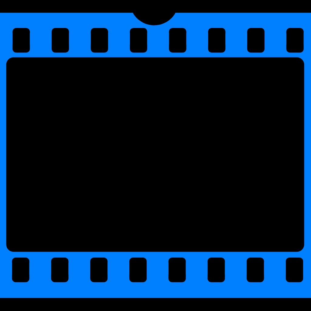 4300b730927e Blue Film Frame SVG Clip arts 600 x 549 px