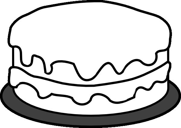 Birthday Cake 3 SVG Clip arts