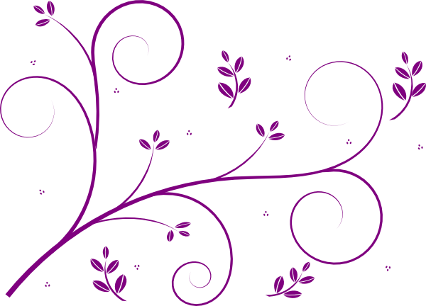 Floral Garland SVG Clip arts