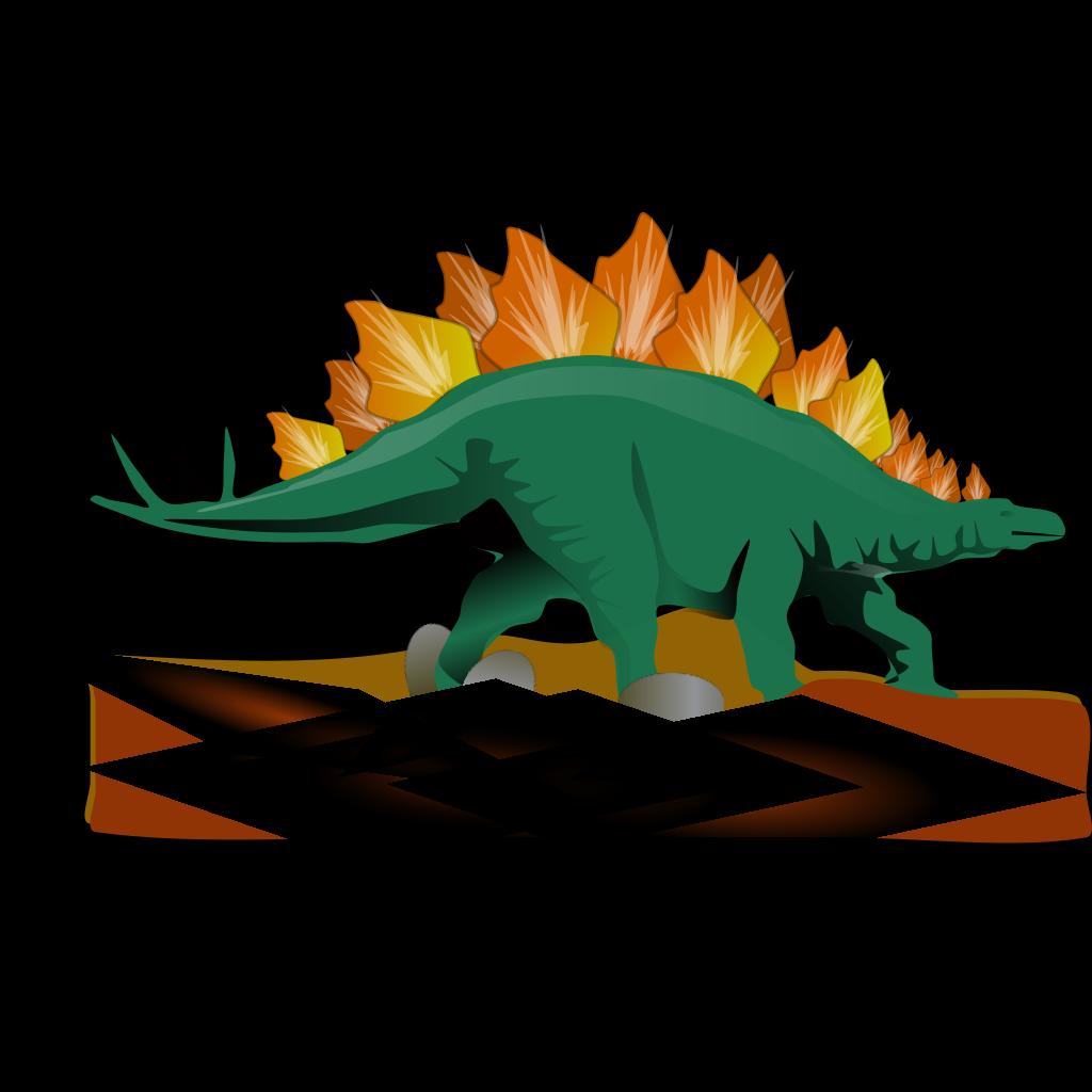 Stegosaurus svg