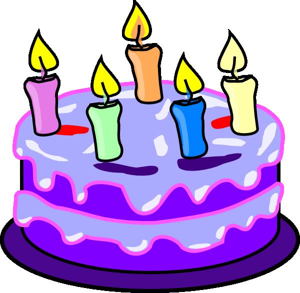 Birthday Cake SVG Clip arts