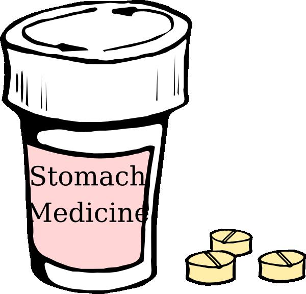 Metalmarious Medicine And A Stethoscope SVG Clip arts