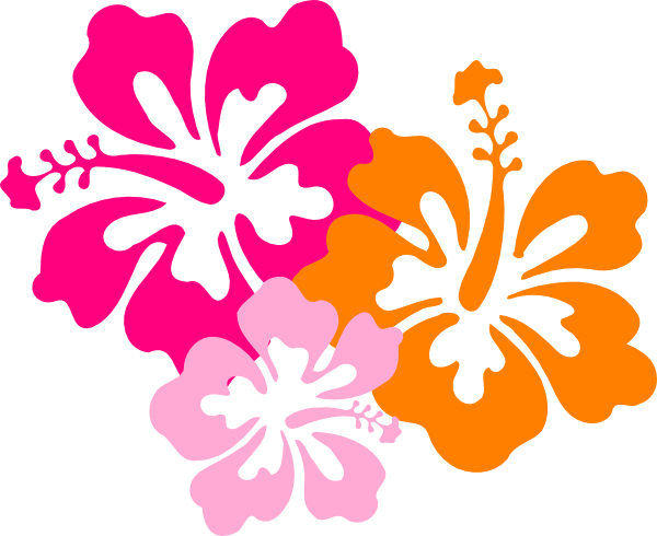 Hibiscus 8 SVG Clip arts