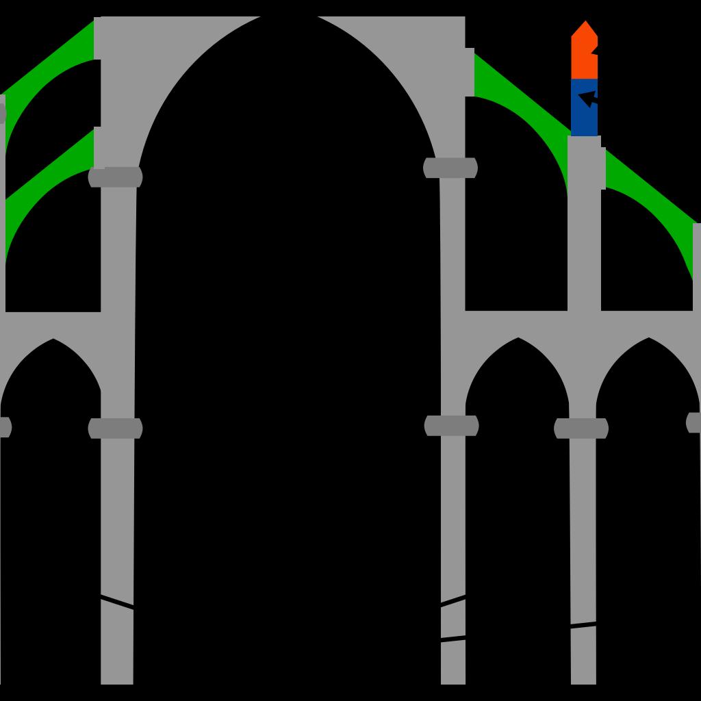 Gothic Art SVG Clip arts