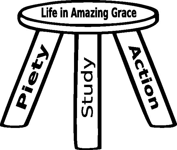 Three Legged Stool Outline SVG Clip arts
