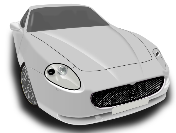 Sports Car SVG Clip arts
