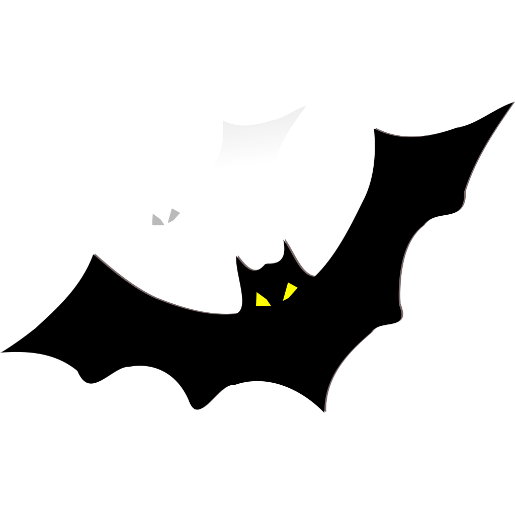 Bat Silhouette SVG Clip arts
