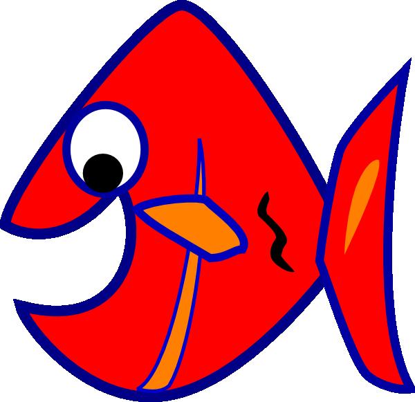 Blue Fish SVG Clip arts