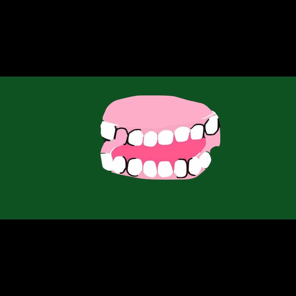 Fake Teeth SVG Clip arts
