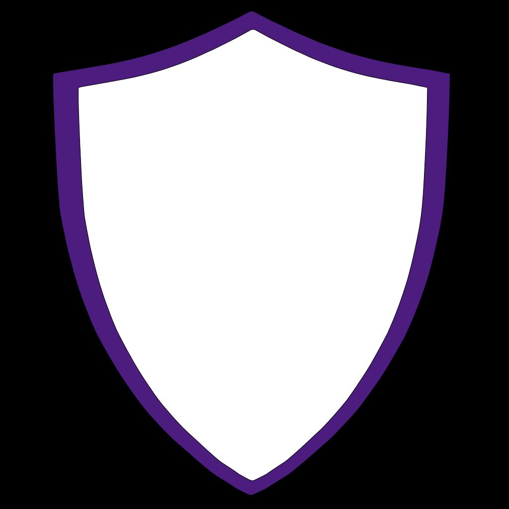 Violet Crest SVG Clip arts