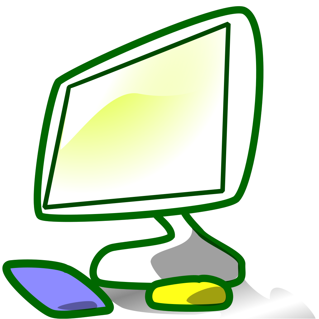 Computer 12 SVG Clip arts