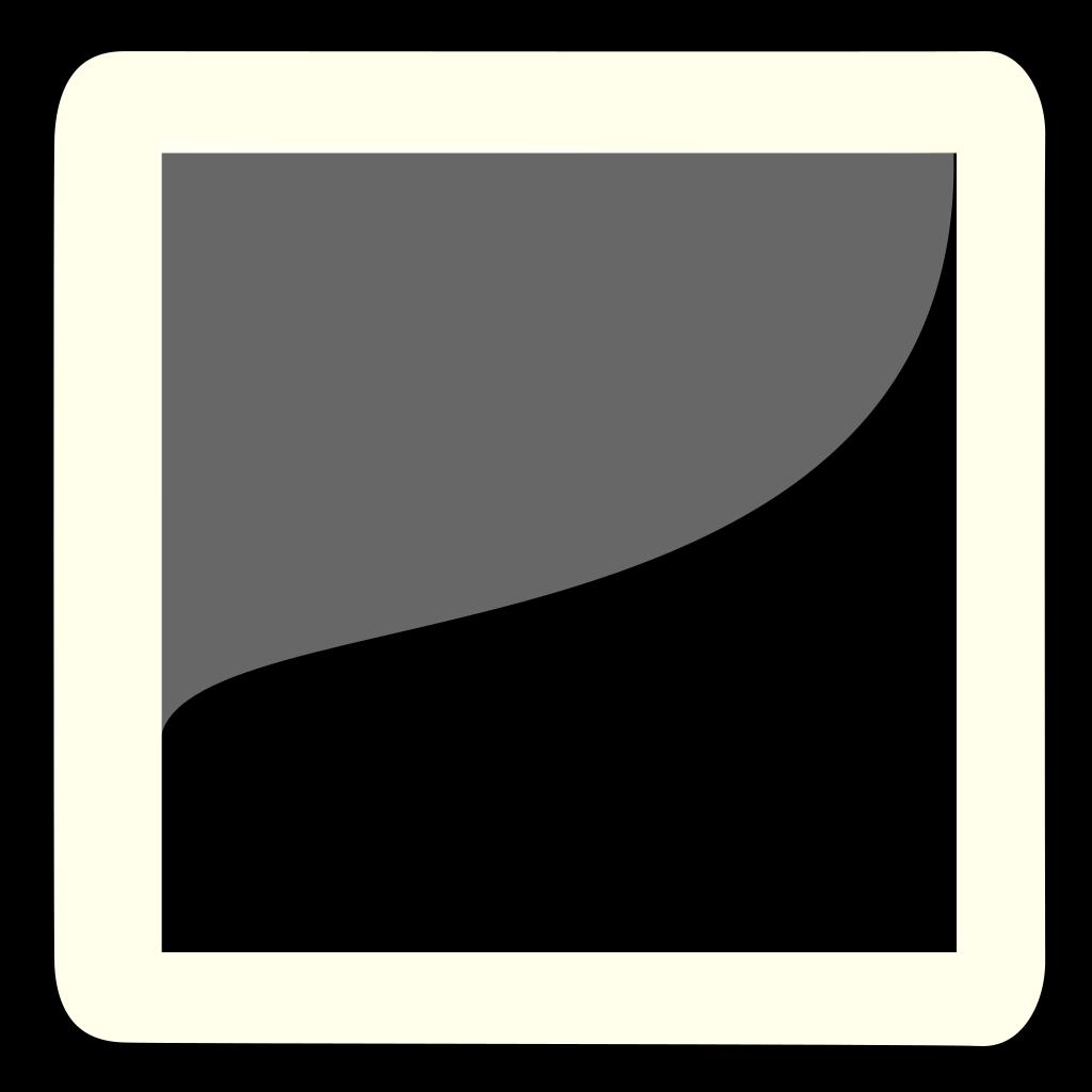 Gray And Black Portrait SVG Clip arts