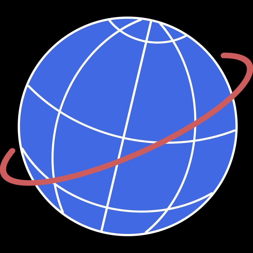 Globe SVG Clip arts