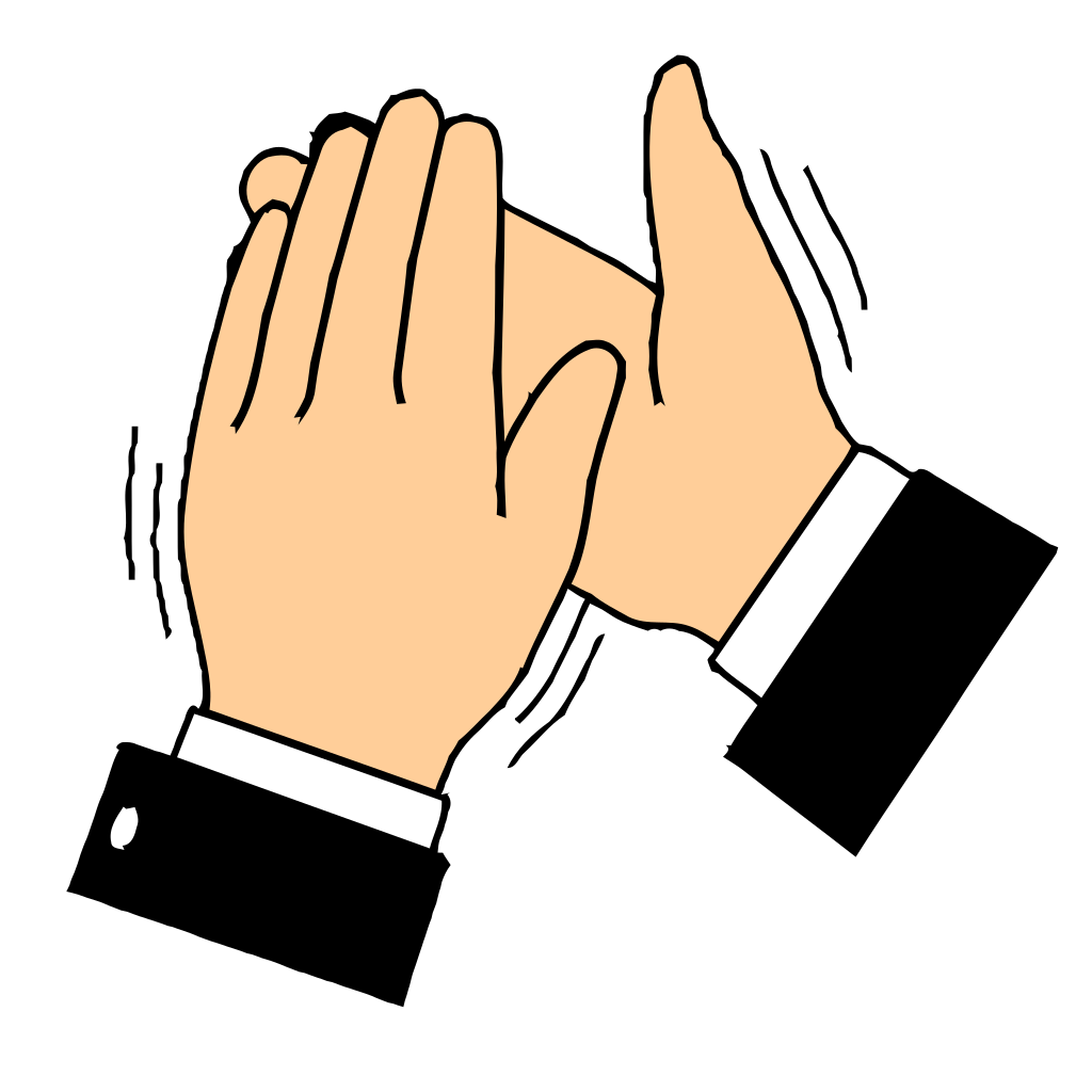 Clapping Hands Clip Art