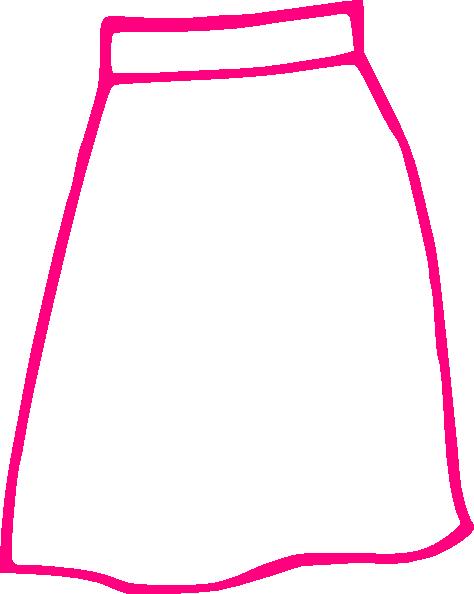 Pencil Skirt SVG Clip arts