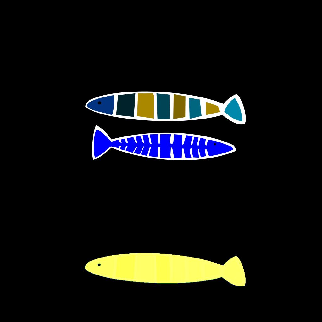 Abstract Fish SVG Clip arts