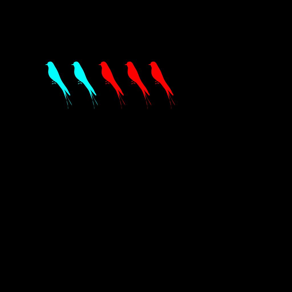 Birds SVG Clip arts