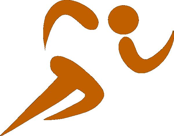 Running Hen SVG Clip arts